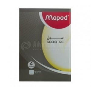 Registre MAPED 2 mains A4