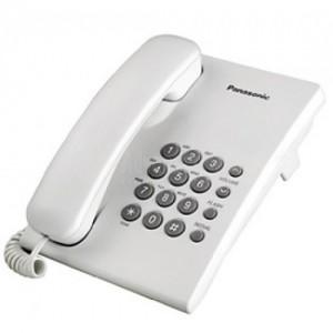 Téléphone PANASONIC KX-TS500MXW Blanc
