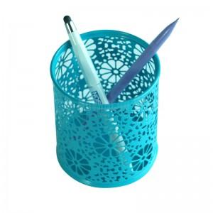Porte stylo métallique multi-couleurs motif à fleurs H802-C Advanced Office