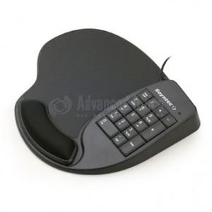 Tapis de souris SOYNTEC Nexoos 715 avec 3 ports USB 2.0, repose poignet et pavé numérique