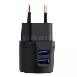 Chargeur Adaptateur AWEI C-900 2 USB 2.1A avec câble Micro USB pour smartphone