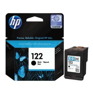 Cartouche HP 122 Noir pour Deskjet 1000/1050/1510/2000/2050/3000/3050, Advanced Office