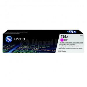 Toner HP 126A Magenta pour CP1025/M175, Advanced Office