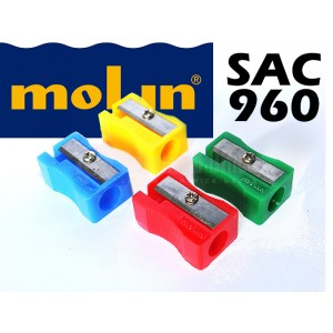 Taille crayon écolier MOLIN SAC960 Multi-couleurs  -  Advanced Office
