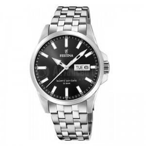 Montre pour Homme FESTINA Retro F20357 Bracelet Argenté Advanced Office