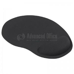 Tapis de souris avec repose poignet gel GM Noir