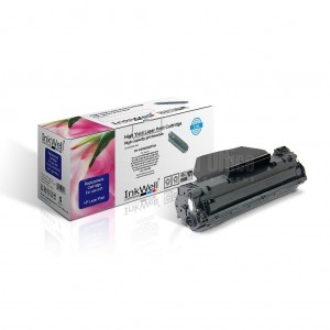 Toner compatible INKWELL CE278A/CRG728 Noir pour HP P1560/1600, CANON MF4500  -  ADVANCED OFFICE