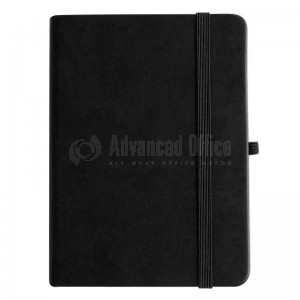 NoteBook A6 Noir 196 pages - ADVANCED OFFICE
