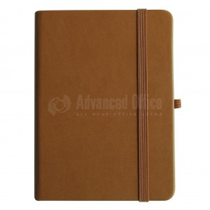 NoteBook A6 Marron 196 pages - ADVANCED OFFICE