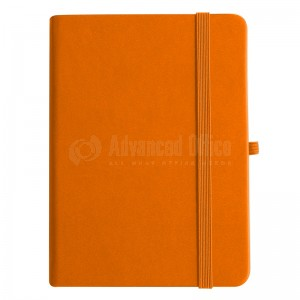 NoteBook A6 Orange 196 pages - ADVANCED OFFICE