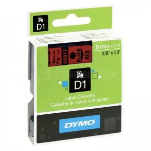 Recharge DYMO D1 pour Label Manager 9mm X7m noir/Rouge Advanced Office
