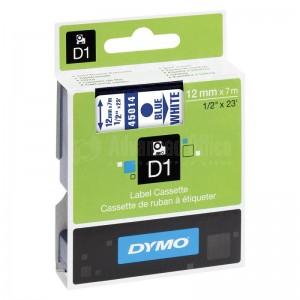 Recharge DYMO D1 pour Label Manger 100+/150 bleu/Blanc Advanced Office