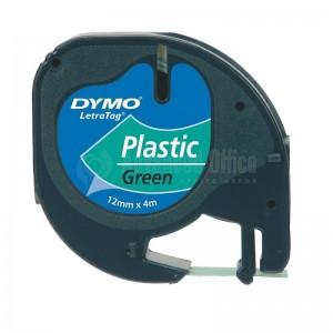 Recharge DYMO LetraTag plastique vert 91224 - Advanced Office