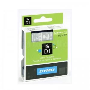 Recharge DYMO D1 pour Label Manger 100+/150 blanc/Transparent Advanced Office