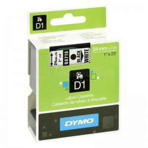 Recharge DYMO D1 pour Label Manager 24mm X7m noir/Blanc  Advanced Office