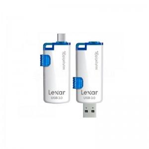 Flash disque LEXAR JumpDrive M20 16 Go USB 3.0 double connexion