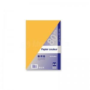 Rame de papier couleur GALAXIE A4 80g 250 feuilles Orange - Advanced Office