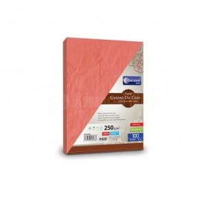 Rame de papier couleur GALAXIE A4 80g 250 feuilles Rouge - Advanced Office