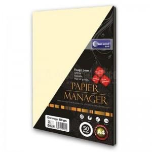 Rame papier manager toilé ivoire GALAXIE A4 100g 50 Feuilles - Advanced Office
