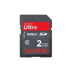 Carte mémoire SANDISK Compact Flash 2Go