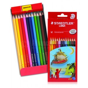 Boite de 12 crayons couleurs STAEDTLER Luna