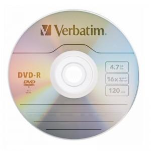 DVD+R VERBATIM 4.7GB/120min