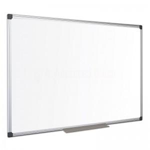 Tableau blanc magnétique laqué mural 90x60cm