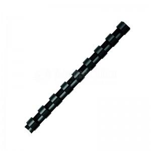 Boite de 25 spirale FELLOWES à 21 anneaux 10 mm Noir