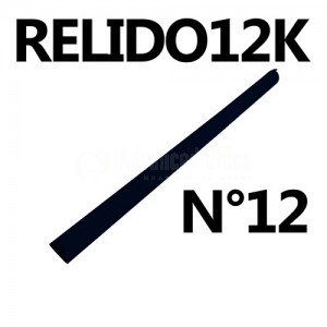 Baguette relido N°12 noir Advanced Office
