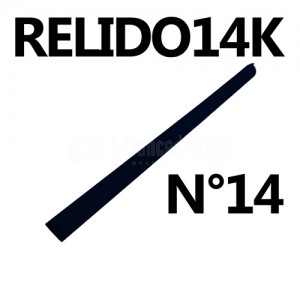 Baguette relido N°14 noir  Advanced Office