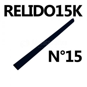 Baguette relido N°15 noir Advanced Office