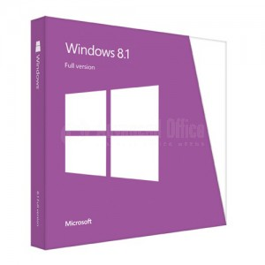 Microsoft Windows Professionnel 8.1  64-bit French 1pk DSP OEI