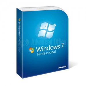 Microsoft Windows 7 Pro 64-bits French 1pk DSP LCP