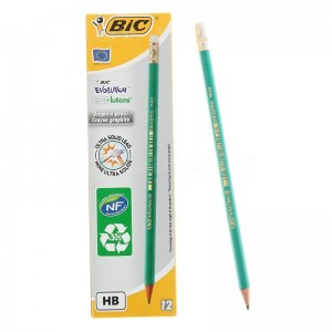 image.Crayon BIC Eco évolution 655HB avec gomme - Advanced Office