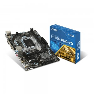 Carte Mère MSI H100M PRO-VH Socket Intel 1151 Chipset H100