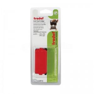 Jeu de 2 cassettes d'encrage pour cachet TRODAT 6/4913 rouge
