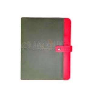 Porte folio A4 Noir/Rouge
