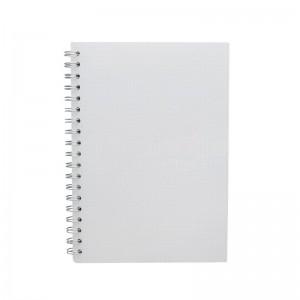Notebook Spiral GOLDEN FEATHER B5 190 x 260mm 4 intercalaires