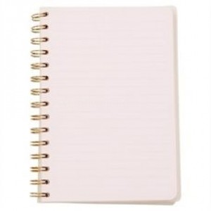 Note book Spiral GOLDEN FEATHER B5