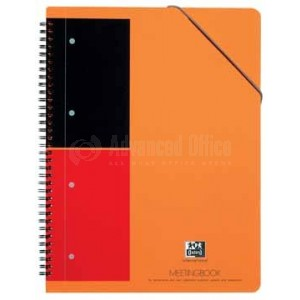 Cahier et chemise OXFORD MeetingBook A4 160 pages