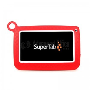 """Tablette SUPERTAB K7 Kids, Wifi, 8Go, 7"""", Android 4.4, Rouge"""
