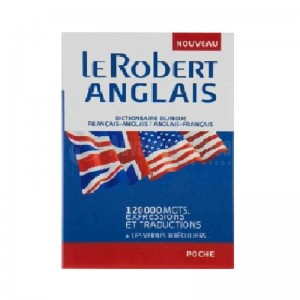 Dictionnaire Le Robert Français/Anglais/Français