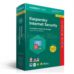 Antivirus Kaspersky Internet Security 2018 Licence 1 poste 1 an
