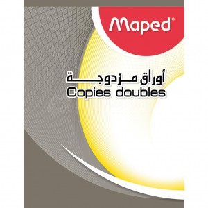 Double feuilles MAPED 96 pages 17x22 Seyes