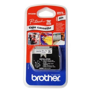 Recharge BROTHER 9mm noir/blanc pour PT90YP1  -  Advanced Office