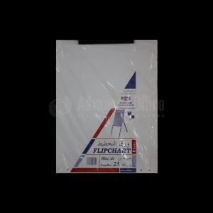 Bloc de papier de 25 feuilles FABS pour tableaux blancs