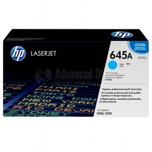 Toner HP 645A Cyan pour Laserjet 5500/5550