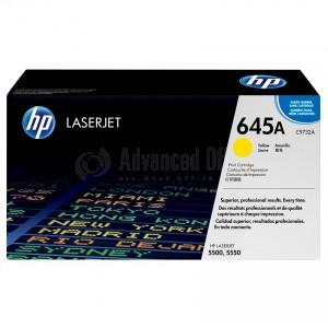 Toner HP 645A Yellow pour Laserjet 5500/5550