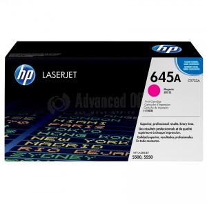 Toner HP 645A Magenta pour Laserjet 5500/5550