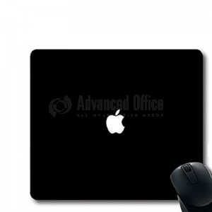 Tapis de souris Logo APPLE Simple Noir
